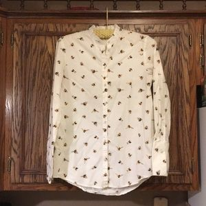 Victoria Beckham bee blouse XS - Like New!